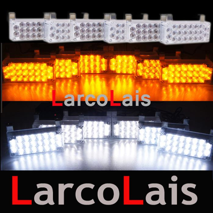 Larcolais 6x22 Led Strobe Lights Amp Fire Flashing Blinking