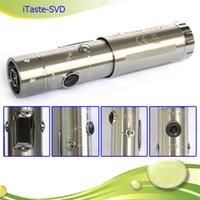 Wholesale Ecigarette Sets - Wholesale-innokin ecigarette itaste svd innokin variable voltage 18650 18350 battery tube mod ecig