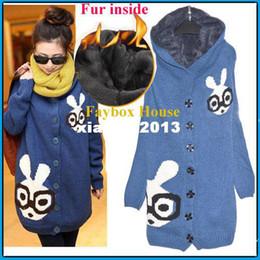 2013 Nueva moda Ropa para mujeres embarazadas Tops Plus tamaño Cálido Faux fur dentro de maternidad Cardigans Hoodies de invierno