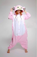 Wholesale Sheep Onesie - New Kigurumi Pajamas Anime Cosplay Costume unisex Adult Onesie Sheep Dress!S M L XL