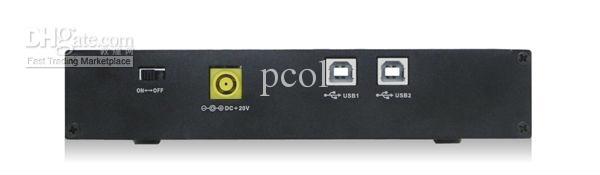 무료 익스프레스   20 포트 USB2.0 허브 산업용 그레이드 USB 허브 고성능 및 안정성