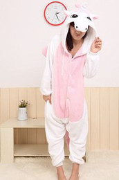 Barato Novo Unicórnio Onesie-Requintado NOVO, Anime Kigurumi Pijamas Cosplay Costume Unisex Onesie Dress / Unicorn!