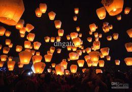 Wholesale Sky Balloon Free Shipping - Wholesale - Sky Lanterns,Wishing Lantern fire balloon Chinese Kongming lantern Heart Wishing Lamp Free Shipping