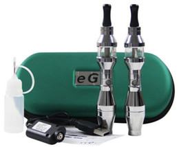 Wholesale Ego Ee2 Double - EE2 Battery EE2 Atommizer Double Batteries E Cig Charger eGo-T Atomizer USB Cable Cheap Electronic Cigarette eGo Cigarette eGo-T AAA Quality