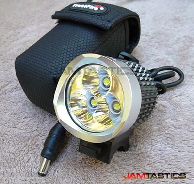 50SET ,Trustfire 3* Cree XML-T6 3800Lumen MTB mountain bike head lights set +Waterproof Battery pack