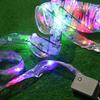 LED String Light Satin Ribbon String Light Christmas Tree Festival Decoration Light High Quality 80 PCS LED