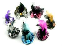 Wholesale Diy Mini Hats - Free Shipping 5.5cm 10pcs lot Hen Party Plain Mini Top Hat. Cute Hat for DIY hair clip. mixed colors 2013 New arrival Hot sale!