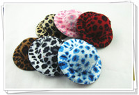 "Wholesale Mini Top Hat Leopard - 2.75"" leopard print party hats WITH HAIRPINS ,fashion mini top hats,6 color can be choose 50pcs lot,free shipping"
