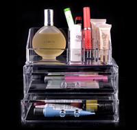 Wholesale Princess Trunk - Fashion Princess Acrylic Cosmetic Organizer Case Jewelry Gift Box SF-1063