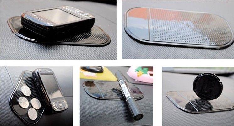 Мода горячий мощный силикагель магия липкий коврик анти-скольжения нескользящая коврик для телефона КПК mp3 mp4 автомобильные аксессуары многоцветный