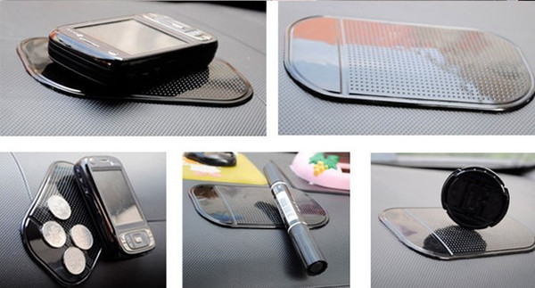 best selling Car accessory Powerful Silica Gel Magic Sticky Pad Anti Slip Non Slip Mat for Phone PDA mp3 mp4 Car Accessories Multicolor