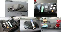 Мода горячий мощный силикагель магия липкий коврик анти-скольжения нескользящая коврик для телефона КПК mp3 mp4 автомобильные аксессуары многоцветный от