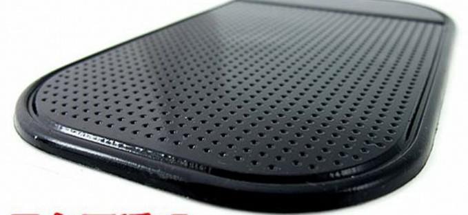 Accesorio del coche Potente Gel de sílice Magic Sticky Pad Anti Slip Antideslizante Mat para teléfono PDA mp3 mp4 Accesorios para el coche Multicolor