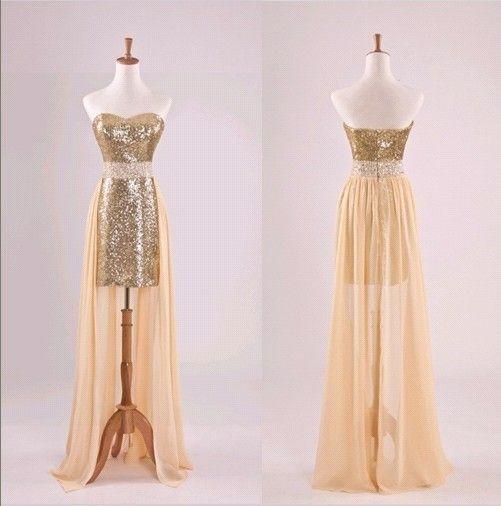 Sequins Prom Dresses