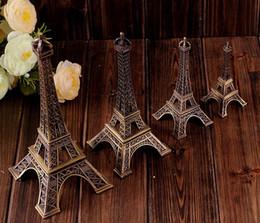 эйфовая модель Скидка 5 см 8 см 15 см винтажный дизайн украшения дома поставки 3D Париж Эйфелева башня металлическая модель бронзовый цвет ремесло свадебный подарок съемки опора