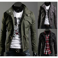 Wholesale Down Coats British Noble Fashion - New Winter Casual Jacket Fashion Men Thicken Jacket Plus Size Stylish Men Coat Slim Outwear turn-down collar Jacket overcoat Outerwear M20