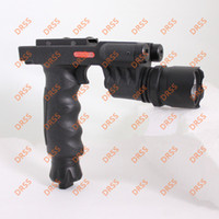 Wholesale Flashlight Grip - Drss Tactical Grip with Flashlight Head and Red Laser For Hunting