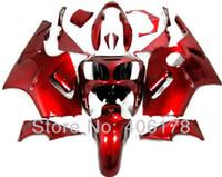 zx12r ninja kawasaki verkleidungen großhandel-Freies Verschiffen, ZX-12R 00 01 zx12r Verkleidungssatz für Kawasaki Ninja ZX12R 2000 2001 volle rote Sport-Motorrad-Verkleidungen für Verkauf