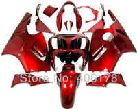 Wholesale zx12r red fairing resale online - ZX R zx12r fairing kit For Kawasaki Ninja ZX12R Full Red Sport Motorcycle Fairings for sale