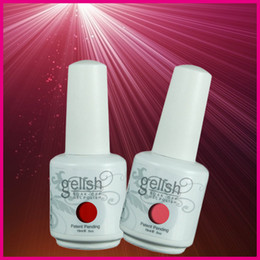 Wholesale Gel Nail Polish Free Shipping - Free Shipping 635Pcs lot Newest Soak Off Gelish UV Gel Nail Polish 403Fashion Colors Available The Best Gel Polish