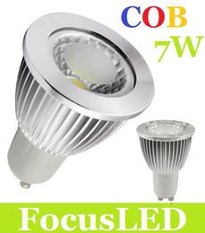 Wholesale Good Led Spot Lights - CREE 7W GU10 E27 E26 E14 MR16 Led Lights COB 600 Lumens Warm Cool White Led Spot Bulbs 110-240V 12V Good Quality CE ROHS