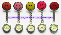 Wholesale Night Smile - 50pcs lot 2013 night nurse watches luminous watches smile metal watch doctor medical watches iron watches 10 colors