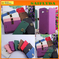Flip Wallet Leather Case Credit ID Titular do cartão titular do suporte para iphone5c 5s iphone 5c 4 4s 5 Samsung Galaxy S4 S3