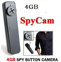 Neueste Tiny Hidden Spy Button Kamera MP-900 DVR HD 640P AVI Audio Mic 30 FPS Secret Mini Camcorder Wireless Video Recorder 4GB
