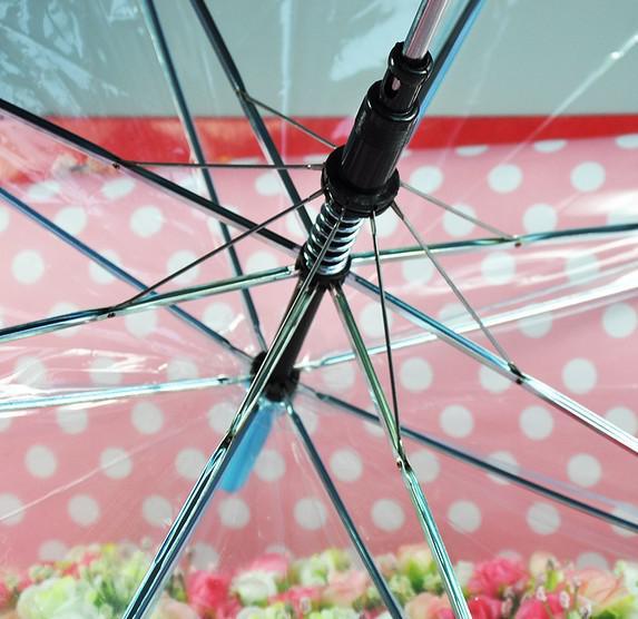 ファッションの肥厚透明な傘の環境に優しいパフォーマンスの高いパフォーマンスBumbershoot Sun Parasol工場Price