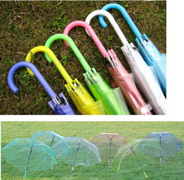 Wholesale Transparent Fabric Wholesale - Fashion thickening transparent umbrella eco-friendly performance bumbershoot sun parasol Factory price