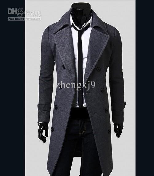 Abrigo guardapolvo hombre