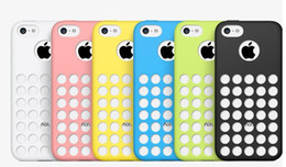 Wholesale Iphone5c Clear - Official Design case TPU dot dots back cover cases clear soft rubber for iphone 5C iphone5C