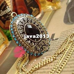 Wholesale Necklace Box Jewel - Min.order is $10 (mix order) Fashion Korea vintaged palace imitation gem jewel box necklace Wholesale !Free shipping!