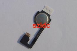 Iphone Flex Original NZ - Genuine Original New For iPhone 4 Home Button Flex Cable Ribbon Flex Home Parts Free DHL EMS