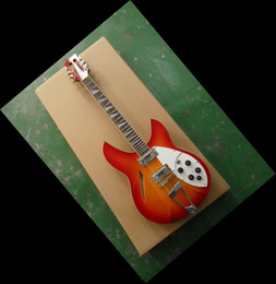 Wholesale 12 Strings Electric - New arrival 12 srings 325 electric guitar cherry free shipping 330 360 370 131101