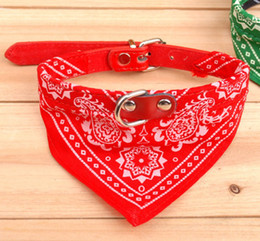 Wholesale Pink Dog Scarf - Wholesale - Free Shipping 2013 New lefdy Pet collar bow tie dog accessories teddy bear pet supplies necklace scarf triangle