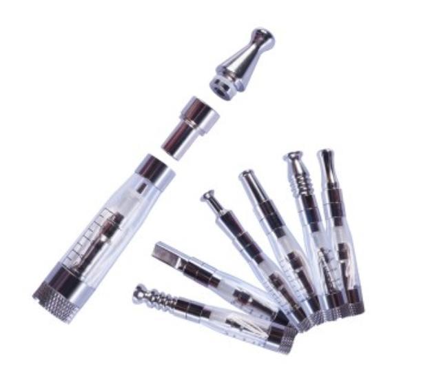 Främjande pris! Toppkvalitetsmetall CE4 510 Adapterkontakt Dropptipsadapter Rostfritt stålkontakt för CE4 CE5 CE6 Clearomizer