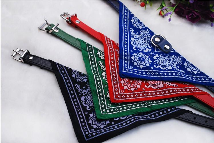 2013 New lefdy Pet collar bow tie dog accessories teddy bear pet supplies necklace scarf triangle