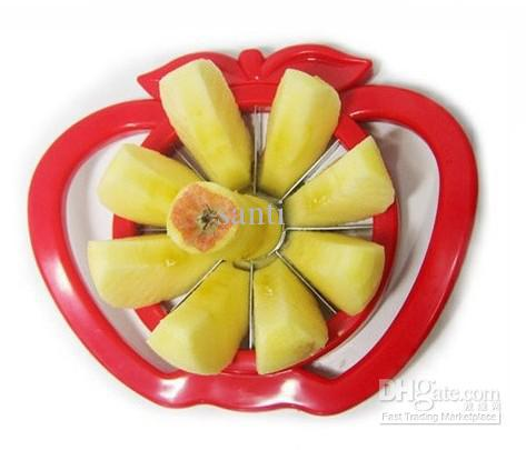 best selling Kitchen Gadgets Corer Slicer Easy Cutter Cut Fruit Knife Cutter for Apple Pear Free Shipping