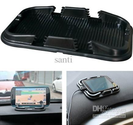 Многофункциональный резина мобильного телефона полку автомобиля антипробуксовочная площадку противоскользящие коврик для MP3 iPhone сотовый телефон владельца