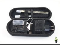 Wholesale Ego Carry Mt3 - ego MT3 kits 2 electronic cigarettes Kits MT3 EVOD Atomizer 650mah 900mah 1100mah battery e cigarette e cig kit in ego Zipper Carry Case