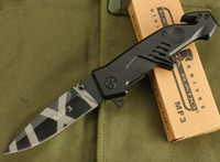 Wholesale Extrema Ratio Mf3 - New Extrema Ratio Tiger stripes MF3 folding blade knife outdoor camping hunting survival army knife outdoor goods