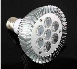 bombilla g6.35 Rebajas Nueva PAR30 21w centro de atención, los LED de ahorro de energía E27 7x3W bombilla de la lámpara Edison Buena calidad de alta potencia nominal 30 llevó la lámpara blanco cálido
