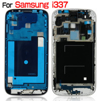 Wholesale Sgh Wholesale - For Samsung Galaxy S4 SGH-I337 I337 AT&T OEM Middle Housing Mid-frame Middle Chassis Faceplate Bezel Cover Original Brand New High Quality