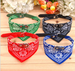 Discount summer dog collars - Wholesale - Free Shipping 2013 New lefdy Pet collar bow tie dog accessories teddy bear pet supplies necklace scarf trian