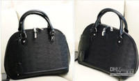Wholesale Handbag Shell Toothpick Grain Bag - Wholesale - new handbag luxury handbag shell toothpick grain Drawstring bag black