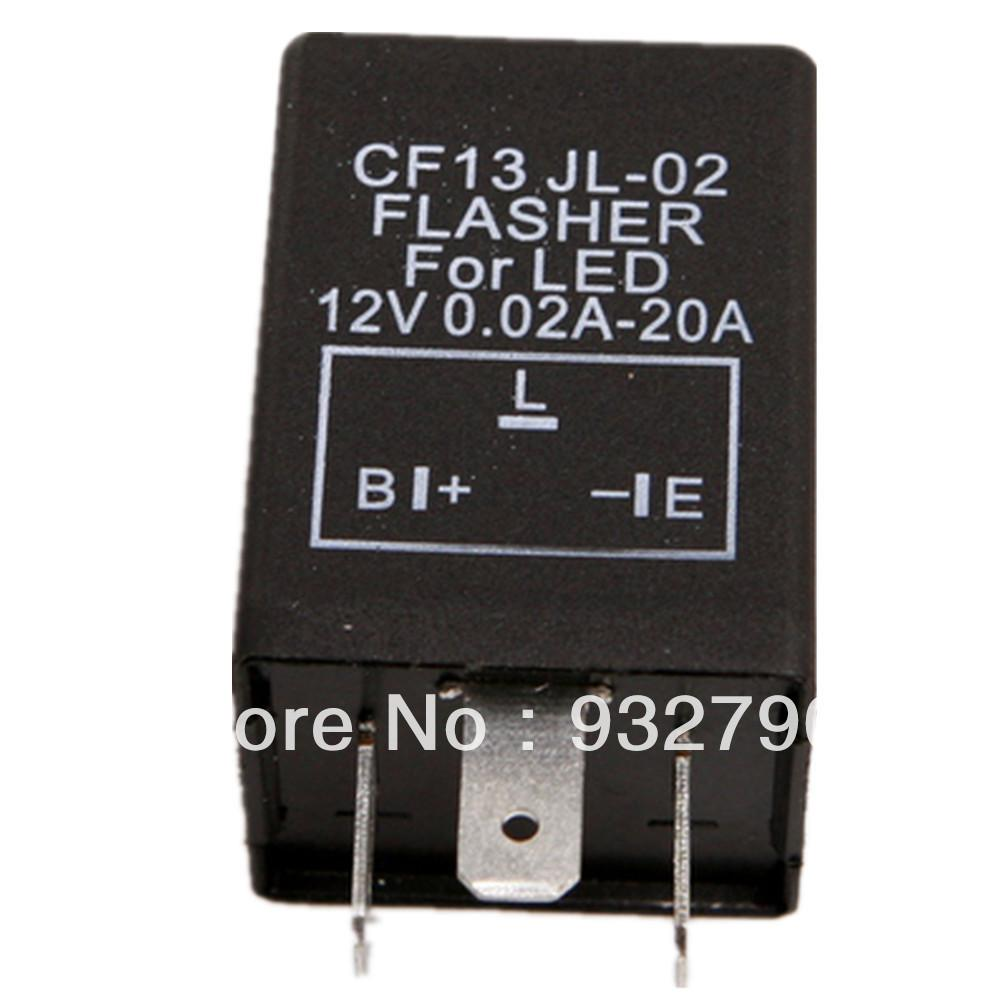 3 Pin 12v Car Auto Motorcycle Flasher Relay To Fix Led Light Blink 12 Volt Circuit Click For Details Flash Cf13 Green Bulb Online With 885 Piece On Motofairings