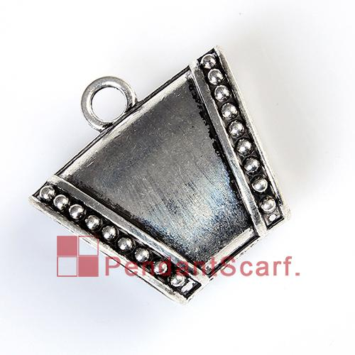 New Arrival Top Fashion DIY Necklace Jewellery Scarf Pendant Mental Alloy Charm Smooth Slide Bails Tube, AC0242A