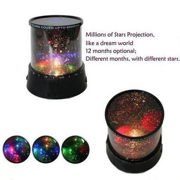 Romantico Sky Star Master LED Night Light Lampada proiettore Incredibile regalo di Natale