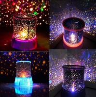 levou c9 luzes venda por atacado-Romântico Estrela Do Céu Mestre LED Night Light Lâmpada Do Projetor Incrível Presente de Natal